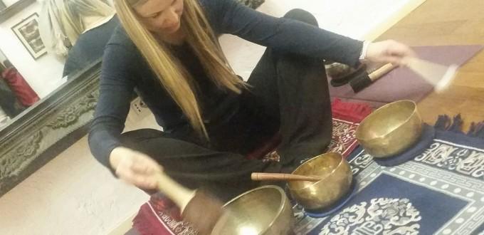 Helga e le Campane Tibetane